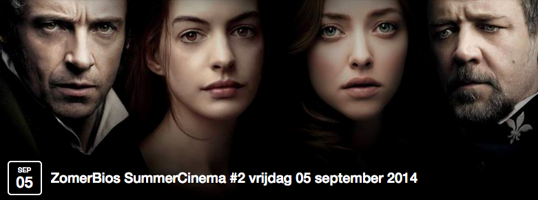ZomerBios Den Haag SummerCinema The Hague @BethelBoven