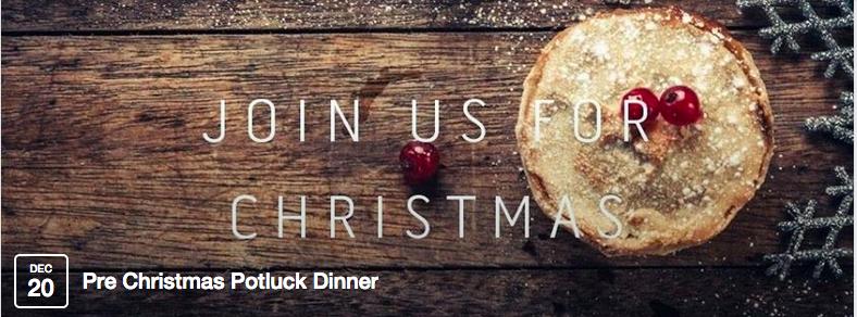 Kerst 2014 BethelBoven Christmas Potluck Dinner