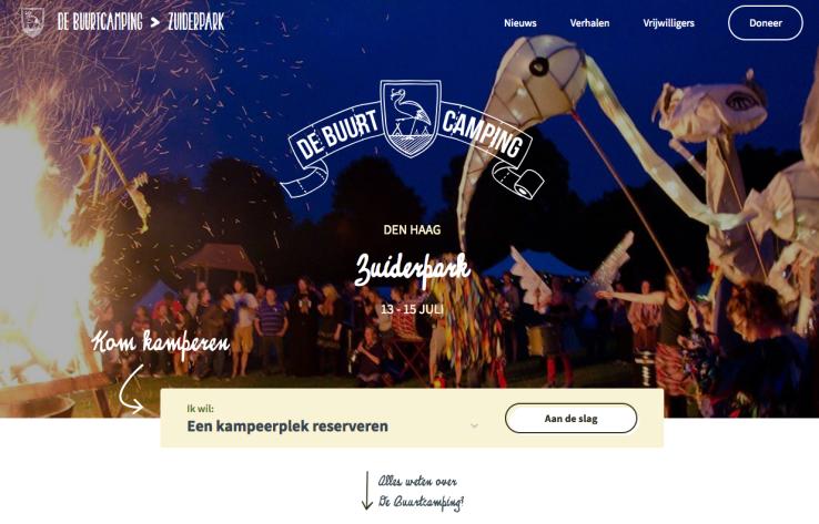 Buurtcamping Zuiderpark 2018 Buurtcamping Den Haag Edgar Neo Geloven in Moerwijk