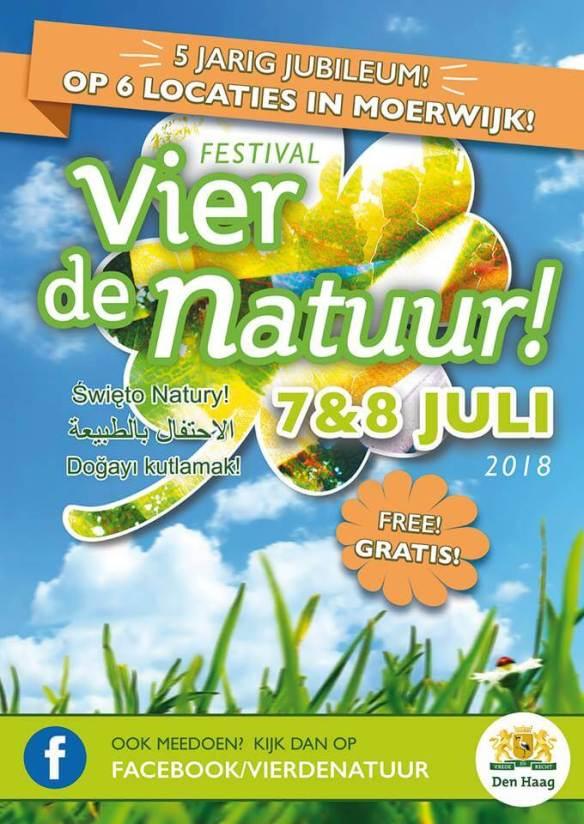 Vier de Natuur Moerwijk 7 8 juli 2018 Flyer